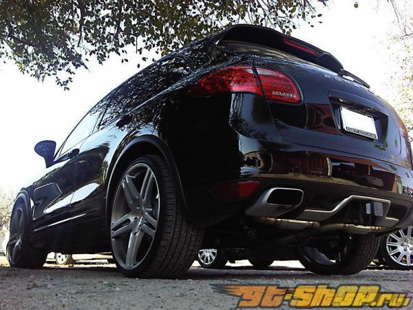 Agency Power Super Sport Muffler выхлоп Porsche Cayenne S V6 V8 2011+