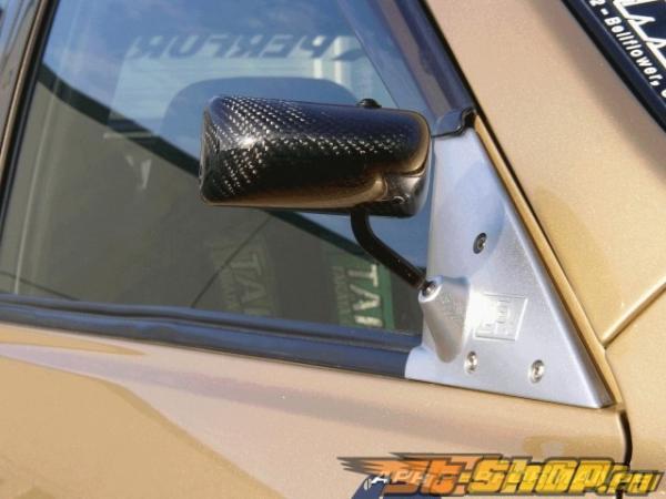 Карбоновые зеркала APR Formula GT3 на Lexus IS300 00-05