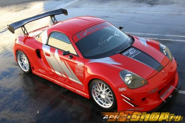 Карбоновые зеркала APR Formula GT3 на Toyota MR2 Spyder 00-05