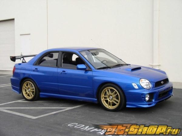 Карбоновый спойлер APR GTC-200 для Subaru WRX 2002-2007