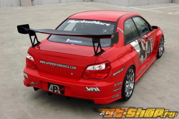 Карбоновый спойлер APR GTC-300 для Subaru WRX STI 2002-2007