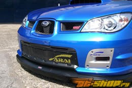 Нижний комплект воздухозобрников в решётку радиатора Arai Motorsport на Subaru WRX STI 02-07
