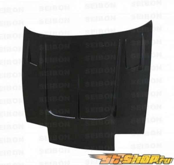 Карбоновый капот на Nissan 240SX 89-94 Seibon TT Стиль