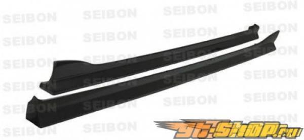 Пороги для Mazda RX 8 2003-2008 Seibon AE Карбон