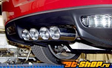 B&B Route 66 Выхлопная система Oval Tips Chevrolet Corvette C6 6spd 05-07