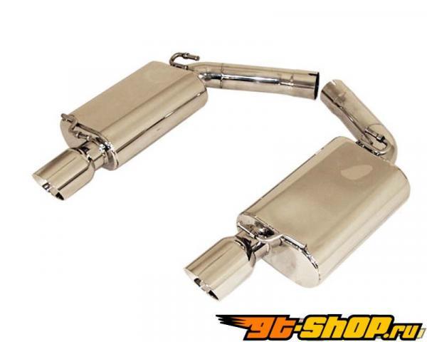 B&B Выхлоп Выхлопная система System Dodge Challenger R/T 5.7L Hemi 09-12