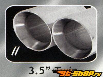 B&B True Dual Выхлопная система Cadillac Escalade EXT 6.0L 02-05