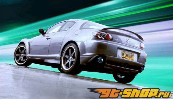B&B Выхлоп Выхлопная система Mazda RX8 03-07