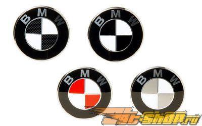 BMW E36 Emblems Colored BMW Roundel Overlays