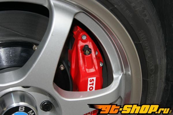 StopTech передний  14 Inch 6 поршневые Большой тормозной комплект BMW M3 E46 ZCP Competition Package 01-07