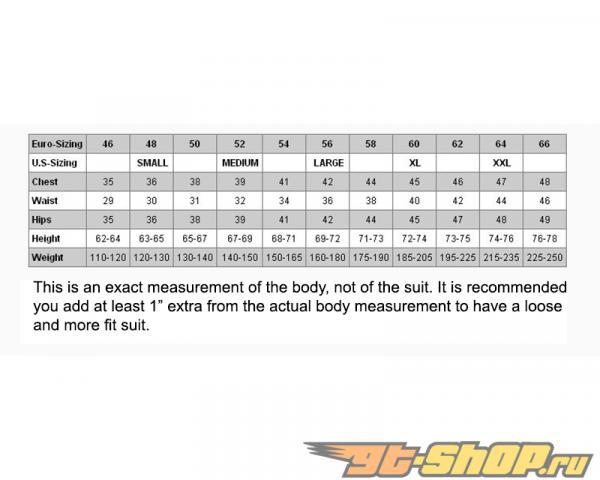 Sabelt Fireproof Racing Suit Series TI-331 Чёрный-Белый EU 58|L