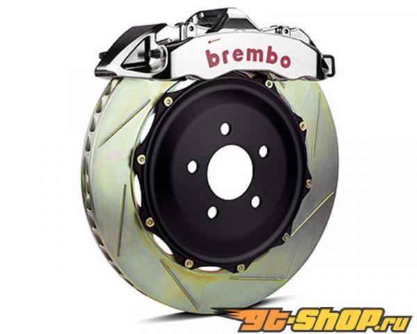 Brembo GT-R Slotted 380x34 2-части 6 поршневые передний  Большой тормозной комплект Cadillac XLR 04-09