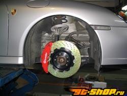 Brembo GT 14 Inch 6 поршневые 2pc передний  тормозной комплект Porsche 997 C4 w/o PCCB 06-11