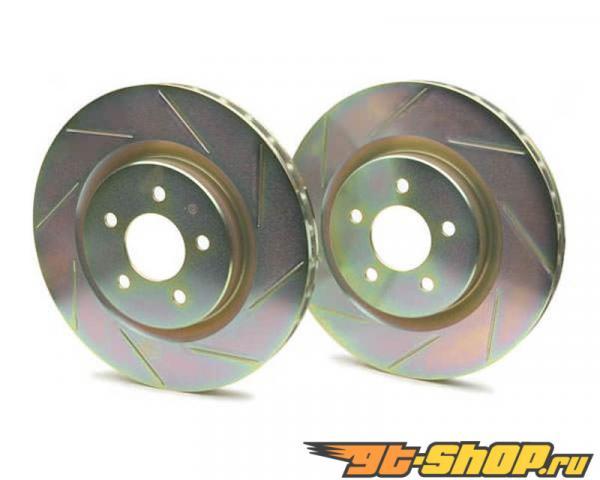 Brembo Sport Slotted задний тормозные диски Mitsubishi Evo 03-06