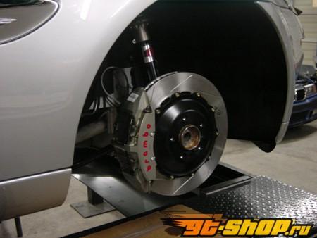 Brembo полный Race Большой тормозной комплект 6piston передний  & 4piston задний Porsche 996 997 Turbo