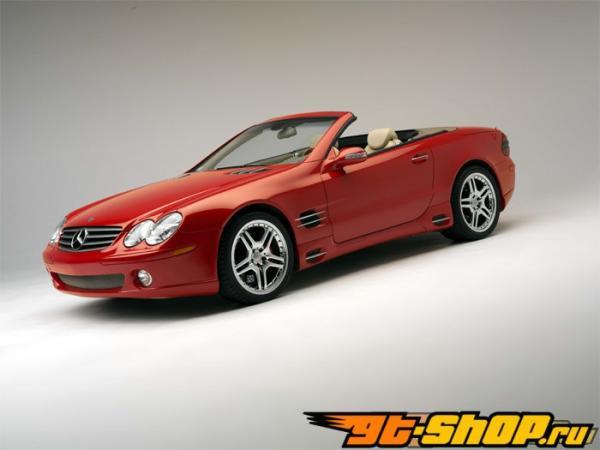 Brembo GT 13 Inch 4 поршневые 2pc задний тормозной комплект Mercedes-Benz SL500 / SL550 03-12