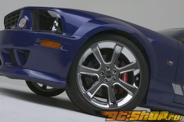 Brembo GT 14 Inch 6 поршневые 2pc передний  тормозной комплект Ford Mustang w/ABS 05-11