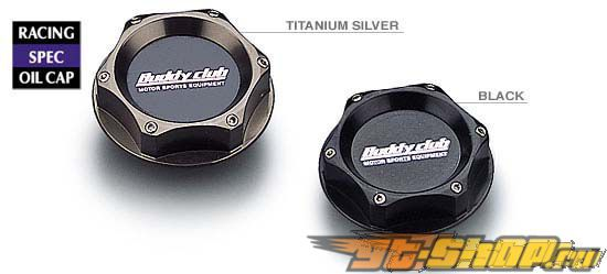 Buddy Club Type 1 Oil Cap Honda/Nissan Титан серебристый