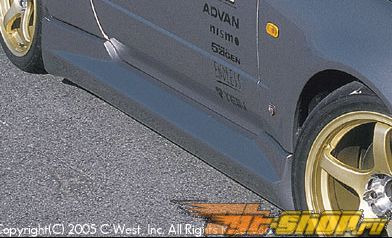 Пороги C-West II на Nissan Skyline GT-R R34 99-02