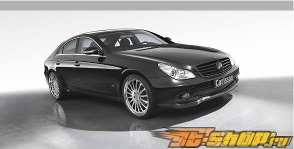 Губа на передний бампер Carlsson для Mercedes CLS500 & CLS550 W219 05+