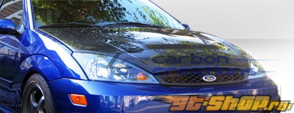 Карбоновый капот на Honda Prelude 92-96 Vader-2 Стиль