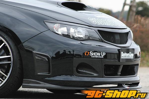Карбоновая решётка радиатора Chargespeed для Subaru WRX STI GRB 08+