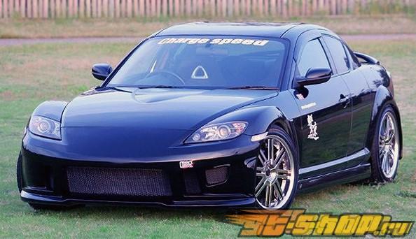 Пороги Chargespeed на Mazda RX8 2003-2008