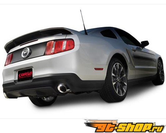 Corsa Axle Back Xtreme выхлоп Ford Mustang GT 11+