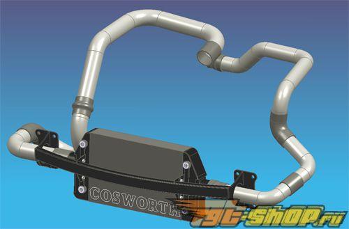 Cosworth передний  Mount Intercooler System Subaru STI 08+