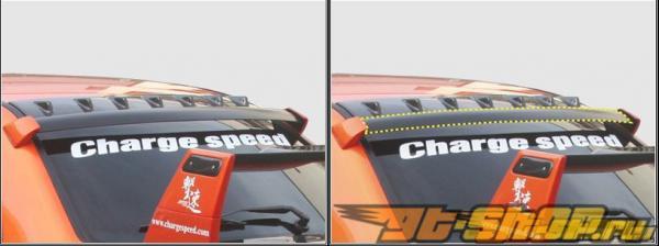 Карбоновый спойлер на крышу ChargeSpeed стандартный Стиль Vane на Subaru WRX STI 2002-2007