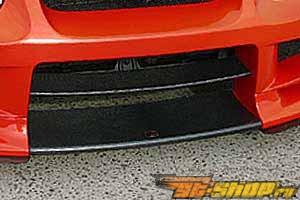 Обвес по кругу с карбоном по центру ChargeSpeed Type 2 на Subaru WRX STI 2004