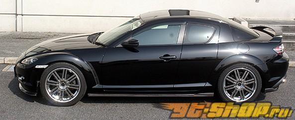 Карбоновые пороги ChargeSpeed Bottom Line для Mazda RX8 2003-2008
