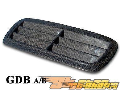 Накладка на капот ChargeSpeed Outlet Стиль для Subaru WRX GDA 2002-2003