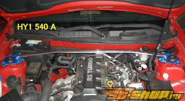 Cusco передний  Type OS растяжка для Hyundai Genesis Coupe 2008+ [CUS-HY1 540 A]