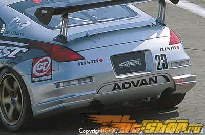 Задний бампер C-West на Nissan 350Z Z33 03+