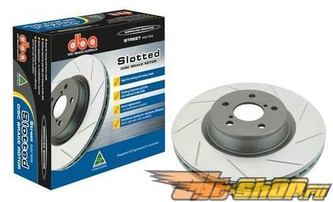 DBA Street Series тормозные диски : Mitsubishi Eclipse 90-99 FWD (передний  пара) #22267