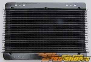 B & M универсальный Engine & Transmission Cooler #22574