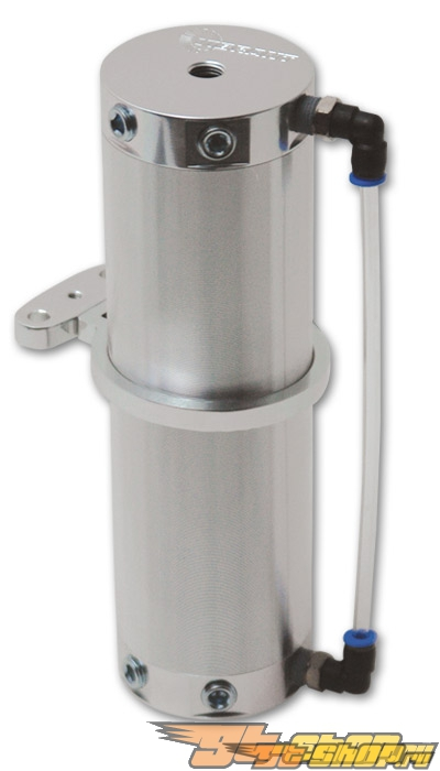 Vibrant Performance Aluminum Catch Can: Polished #21249