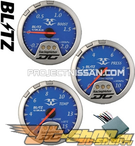 Blitz D1 Spec DC Meters, Set of 3 [BL-19448]