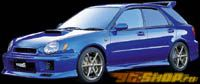 Передний бампер Dolphin на Subaru Wagon WRX 02-03