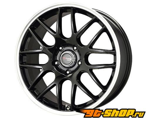 Drag DR-37 18X8.5 5x120 40mm Gloss Чёрный Machined Lip