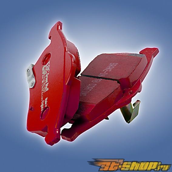 EBC Brakes Redstuff Low Dust керамические передние тормозные колодки 13-Inch Cadillac Escalade Ext|Esv 6.2 2WD|4WD 2007