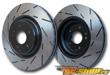 EBC Brakes Ultimax Slotted Sport передний  Rotor 11.7-Inch Mazda CX-7 2.3 Turbo | 2.5 07-12