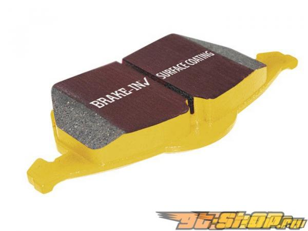 EBC Brakes Yellowstuff 4000 High Friction передние тормозные колодки 11.7-Inch Nissan Altima 2.5 L32 10-14