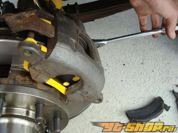 EBC Brakes Yellowstuff 4000 High Friction передние тормозные колодки 14.7-Inch BMW 750 4.4 Twin Turbo Hybrid F04 10-14