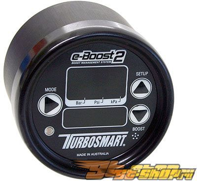 Turbosmart e-Boost2 Traditional 40psi 66mm Boost Controller Чёрный Чёрный