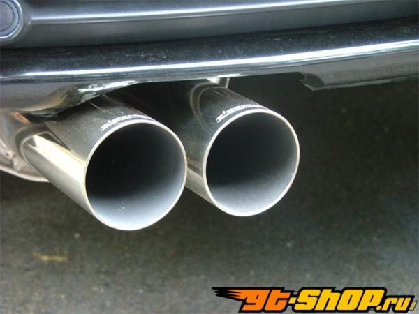 Eisenmann нержавеющий Axleback выхлоп 2x76mm Round Tips BMW 320d / 320cd E46 00-06