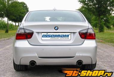 Eisenmann задний Muffler выхлоп Dual Tip 90mm BMW E92-E93 335i 06+