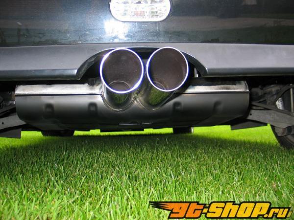 Eisenmann задний Muffler выхлоп Dual Center Tip Mini Cooper Cabrio 04-06