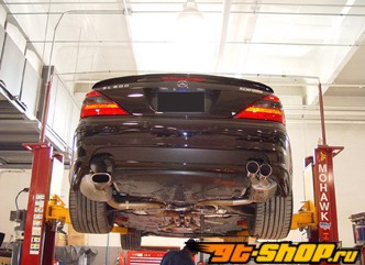 Eisenmann нержавеющий Выхлоп выхлоп 4x83mm Round Tips Mercedes-Benz SL500 02-06